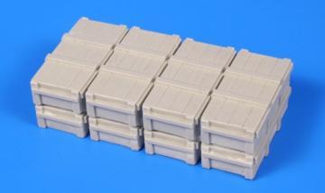 88mm Flak Ammo Boxes/Opel Blitz load set · CMK B48098 ·  CMK · 1:48
