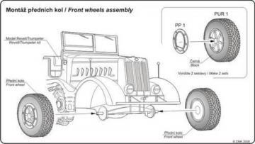 Sd.Kfz. 9 Famo - Wheels · CMK B72016 ·  CMK · 1:72