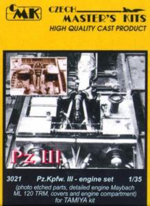 Pz.Kpfw.III - Motor Set ML 120TRM · CMK C03021 ·  CMK · 1:35