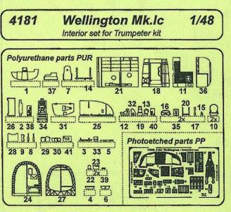 Wellington Mk.1c [Trumpeter] · CMK C8181 ·  CMK · 1:48