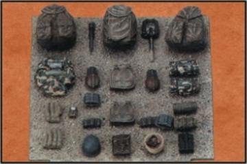 Deutsche Infanterie Ausrüstung Set 3 · CMK CMF35011 ·  CMK · 1:35