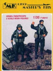 Israelische Fallschirmjäger (2 Figuren) · CMK CMF35015 ·  CMK · 1:35