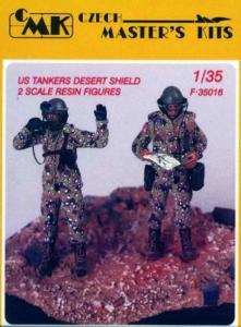 US Tankers Desert Shield (2 Figuren) · CMK CMF35016 ·  CMK · 1:35