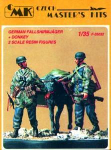 Deutsche Fallschirmjäger mit Maultier · CMK CMF35032 ·  CMK · 1:35