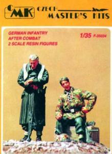 German Infantry after Combat (2 Figuren) · CMK CMF35034 ·  CMK · 1:35