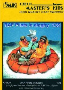 Britisch RAF Pilots in Dinghy · CMK CMF35130 ·  CMK · 1:35
