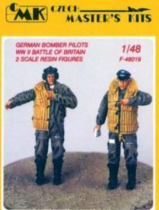 German Bomber Pilots WW II - Battle of Britain · CMK CMF48019 ·  CMK · 1:48