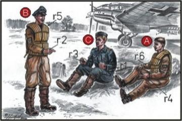Deutsche Bomber Piloten · CMK CMF72038 ·  CMK · 1:72