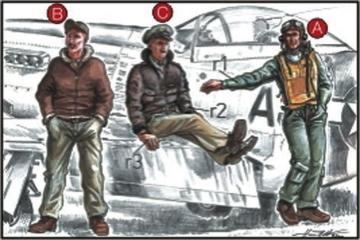 US Army Piloten und Mechaniker · CMK CMF72039 ·  CMK · 1:72