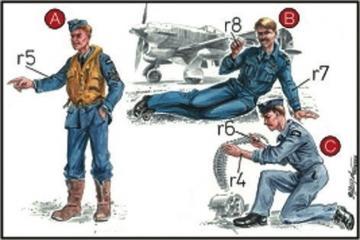 RAF Mechaniker und Pilot · CMK CMF72041 ·  CMK · 1:72