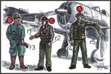 Japanische Piloten · CMK CMF72042 ·  CMK · 1:72