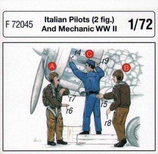 Italienische Piloten und Mechaniker · CMK CMF72045 ·  CMK · 1:72
