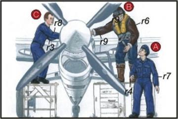 Royal Navy Piloten und Mechaniker · CMK CMF72048 ·  CMK · 1:72