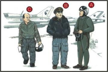 Warschauer Pakt Piloten (3 Stück) · CMK CMF72051 ·  CMK · 1:72