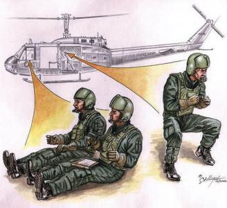US Hubschrauber Besatzung Vietnam · CMK CMF72080 ·  CMK · 1:72