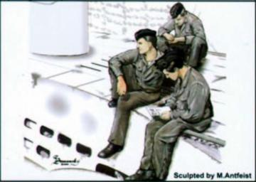 U-Boot VII Crew at rest part I · CMK CMF72118 ·  CMK · 1:72