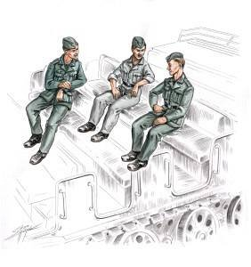 German soldiers for Famo · CMK CMF72156 ·  CMK · 1:72