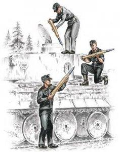 Deutsche Panzerbesatzung für Tiger I · CMK CMF72157 ·  CMK · 1:72
