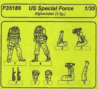 US Special Forces Afganistan · CMK F35186 ·  CMK · 1:35