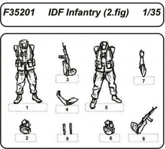 IDF Infantry · CMK F35201 ·  CMK · 1:35