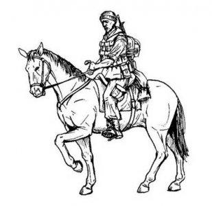 US mounted soldier in Afganistan (1 Figur & Pferd) · CMK F35208 ·  CMK · 1:35