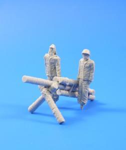 Jap.Army dummy soldiers+howitzer WWII · CMK F35235 ·  CMK · 1:35