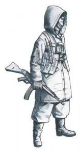 German SS soldier (Hungary 1945) · CMK F35241 ·  CMK · 1:35