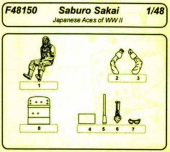 Japanese Aces Saburo Sakai · CMK F48150 ·  CMK · 1:48