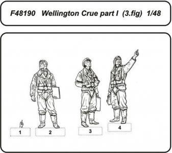 Wellington Crue Part I · CMK F48190 ·  CMK · 1:48