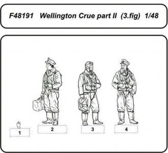 Wellington Crue Part II · CMK F48191 ·  CMK · 1:48