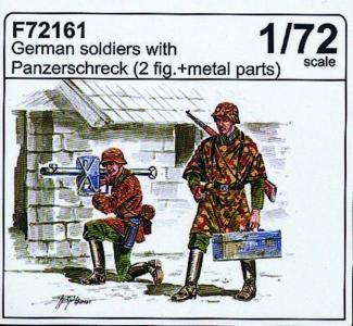 Deutsche Soldaten mit Panzerschreck · CMK F72161 ·  CMK · 1:72