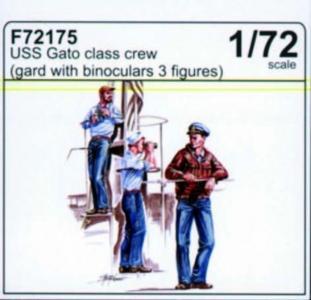 USS Gato Class - Crew (Guard with binoculars) · CMK F72175 ·  CMK · 1:72