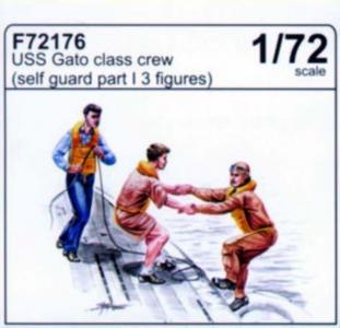 USS Gato Class - Crew (self guard part I) · CMK F72176 ·  CMK · 1:72