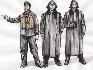 U-Boot Typ IX C - Crew with Raincoats [Revell] · CMK F72250 ·  CMK · 1:72