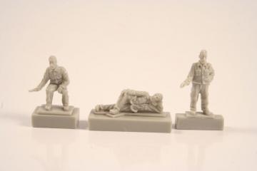 U-Boot Typ IX C - Crew at rest  (3 Figuren) · CMK F72251 ·  CMK · 1:72