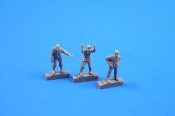 Werner von Braun with his inspection team (3 Figuren) · CMK F72283 ·  CMK · 1:72