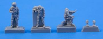 Two Fouga Magister Pilots and Mechanic (3 Figuren) [Special Hobby] · CMK F72306 ·  CMK · 1:72