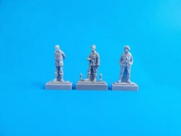 Barracuda Crew Members-Standing (3 Figuren) · CMK F72326 ·  CMK · 1:72