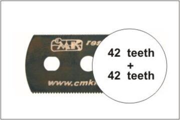 Sägeblatt, beidseitig mittelfeine Zähne · CMK H1002 ·  CMK