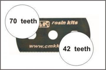 5 Sägeblätter, feine und grobe Zähne · CMK H1004 ·  CMK