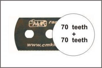 Sägeblatt, beidseitig feine Zähne · CMK H1005 ·  CMK