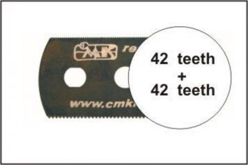 Sägeblatt, beidseitig mittelfeine Zähne · CMK H1006 ·  CMK