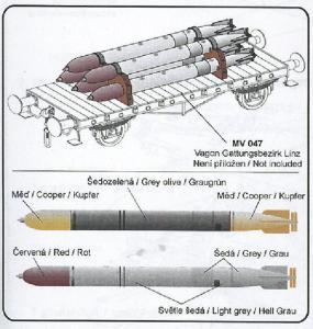 Torpedos und Zubehör · CMK ML80306 ·  CMK · 1:72
