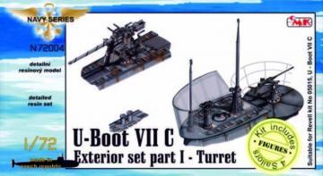 U-Boot Typ VII C - Außendetails I Turm [Revell] · CMK N72004 ·  CMK · 1:72