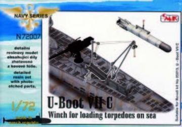 U-Boot VII - Winch for loading torpedoes on sea · CMK N72007 ·  CMK · 1:72