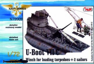 U-Boot Typ VII C - Torpedowinsch [Revell] · CMK N72009 ·  CMK · 1:72