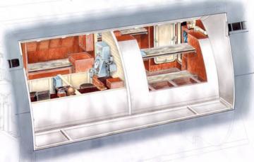 U-Boot typ IX - Captain &Officers WardRoom [Revell] · CMK N72016 ·  CMK · 1:72