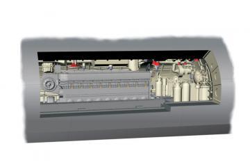 U-Boot IX Diesel - Engine section [Revell] · CMK N72017 ·  CMK · 1:72