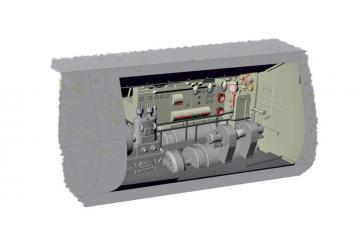 U-Boot IX - Electric motor section [Revell] · CMK N72024 ·  CMK · 1:72