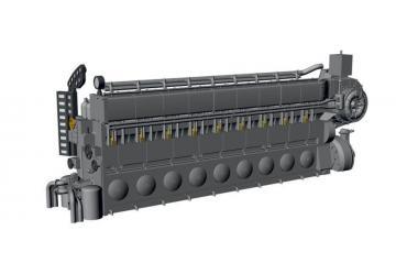 Diesel - Engine MAN M9V46 UIXC [Revell] · CMK N72027 ·  CMK · 1:72